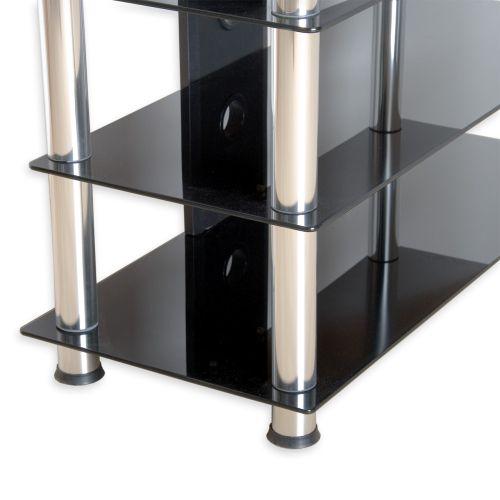 Skleněný HIFI stolek