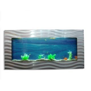 Nástěnné akvárium - akvárko 113 x 65 x 11 cm