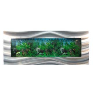 Nástěnné akvárium - akvárko 120 x 44,5 x 11 cm