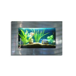 Nástěnné akvárium - akvárko  87 x 58 x 11 cm