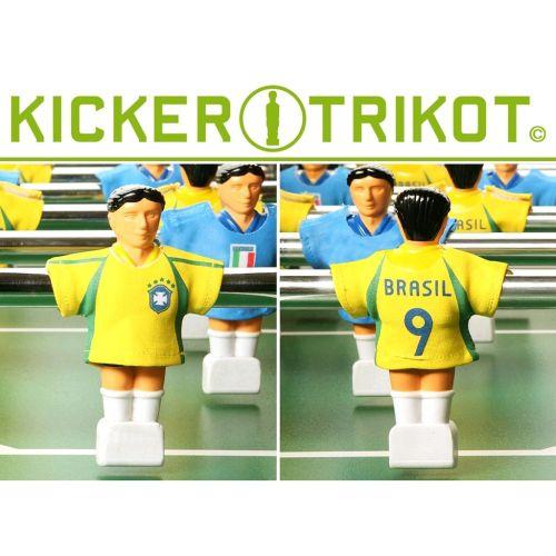 Náhradní fotbalové dresy Brazílie 11 ks OEM M01456