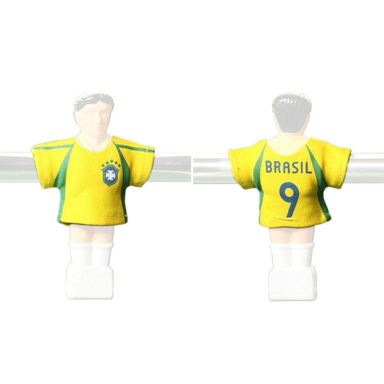 TUNIRO 1456 Náhradní fotbalové dresy Brazílie 11 ks