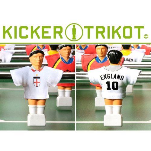 OEM COD1475 Náhradní fotbalové dresy Anglie 11 ks 90% bavlna