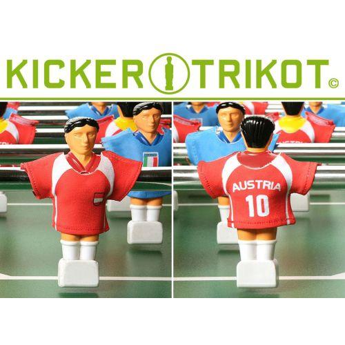 náhradní fotbalové dresy Rakouska 11 ks OEM M01476