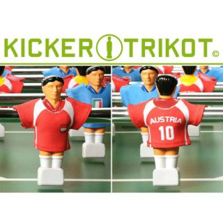 náhradní fotbalové dresy Rakouska 11 ks