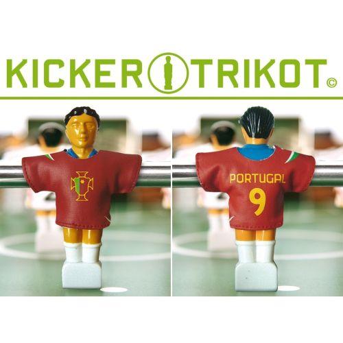Náhradní fotbalové dresy Portugalska 11 ks 90 % bavlna