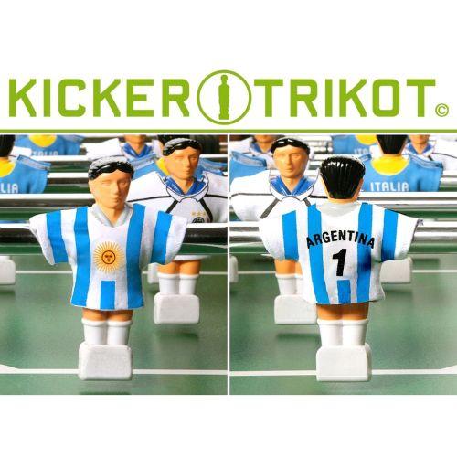 Argentina Sada 11-ti fotbalových dresů Argentiny M01479