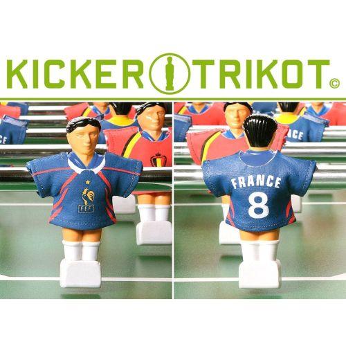 Náhradní fotbalové dresy Francie 11 ks OEM M01480