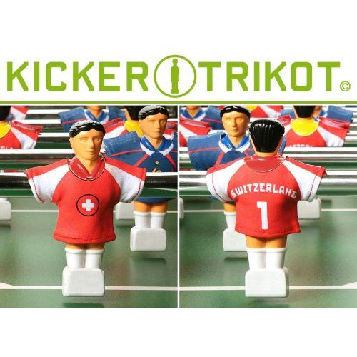 Náhradní fotbalové dresy Švýcarska 11 ks 90% bavlna OEM M01481
