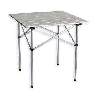 Zahradní hliníkový skládací stůl 70 x 70 cm