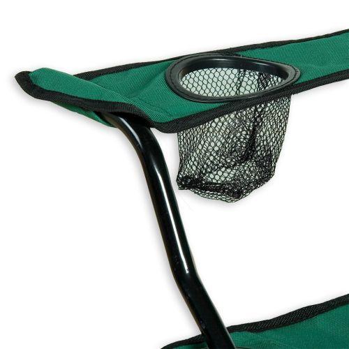 Skládací kempingová židle zelená