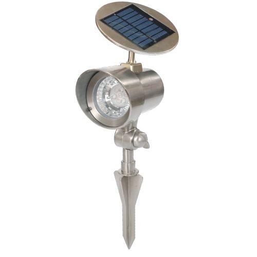 MAX 1521 Solární zahradní lampa reflektor 15 x 11,5 x 22 cm