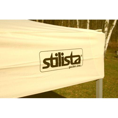 Zahradní párty stan Stilista nůžkový béžový 3x3 m  + 2 bočnice