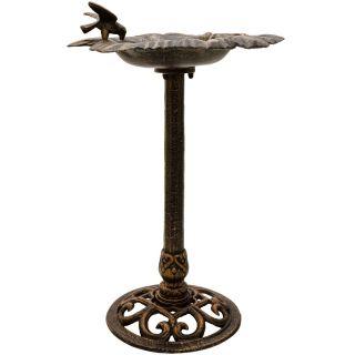 Litinové ptačí krmítko - bronzové