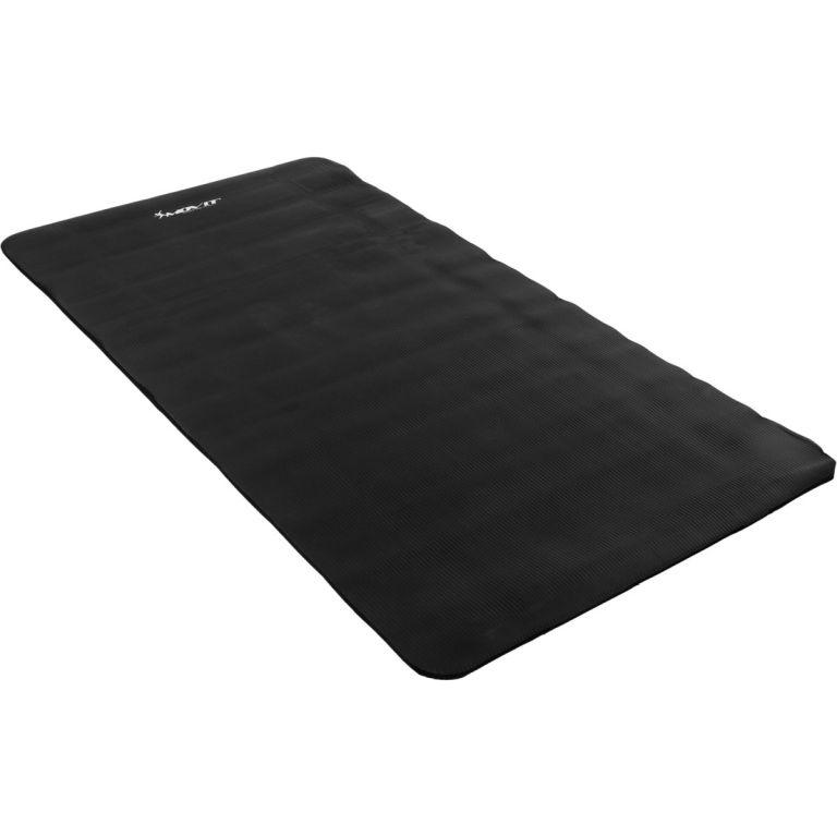 Podložka na jógu MOVIT 190 x 100 x 1,5 cm - černá