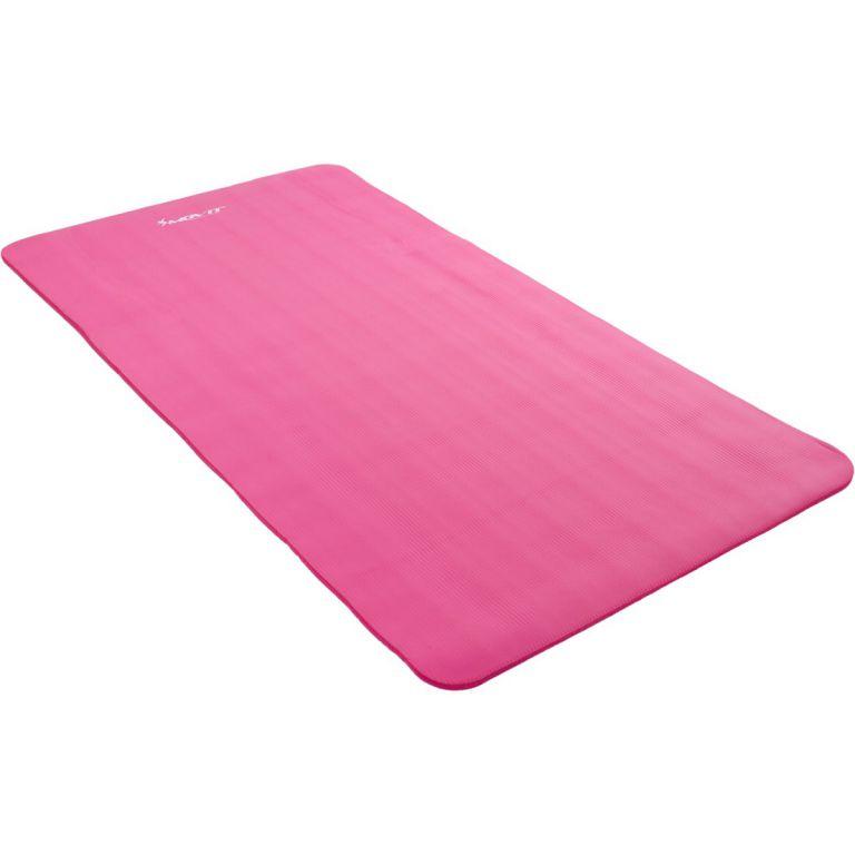 Podložka na jógu MOVIT 190 x100 x1,5 cm - růžová