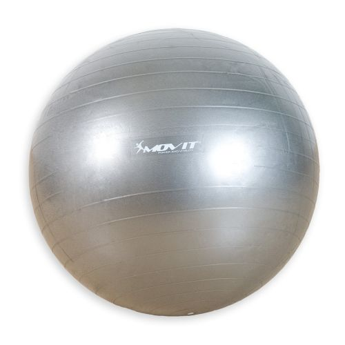 Gymnastický míč Movit  stříbrný 75 cm