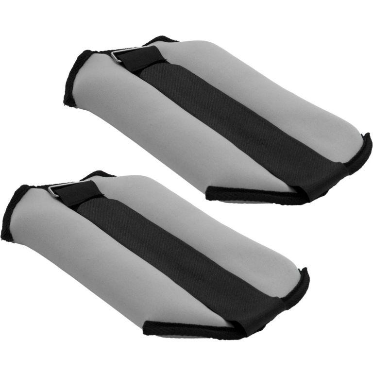 Kotníkové závaží neoprenové 2 kg šedá/černá neopren