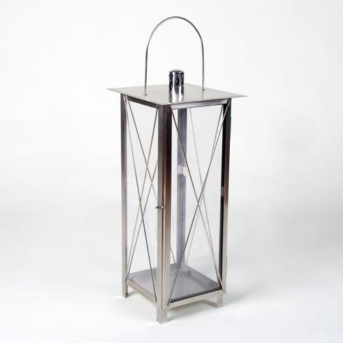 Lucerna Garth z ušlechtilé oceli, 65 cm + RYCHLÉ DODÁNÍ