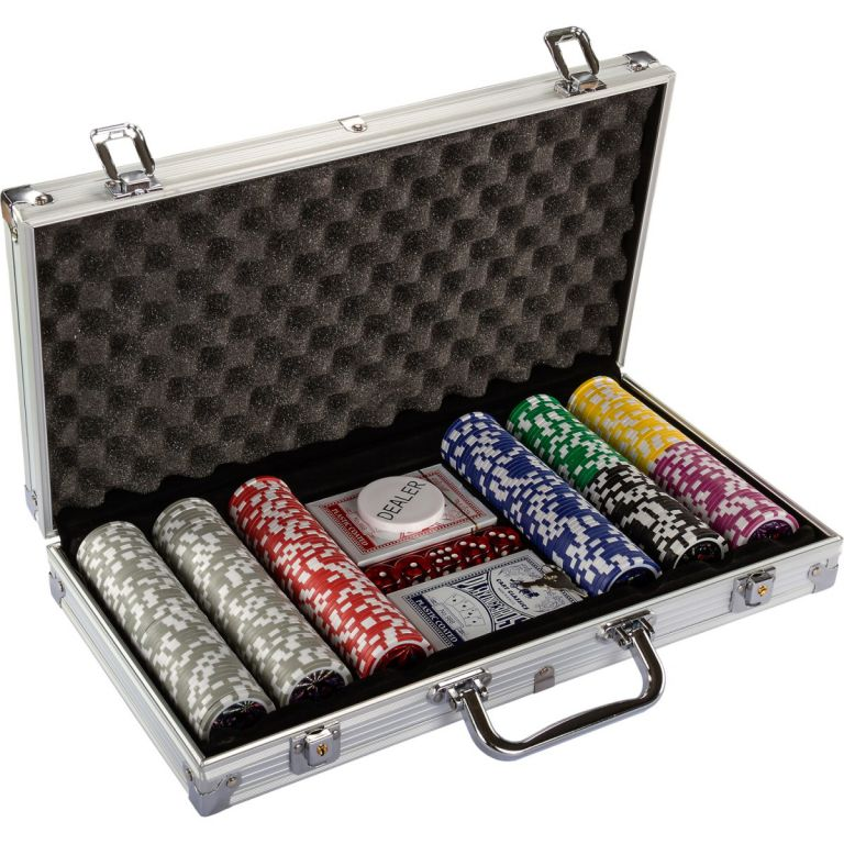 Poker set 300 ks žetonů 1 – 1000 design Ultimate
