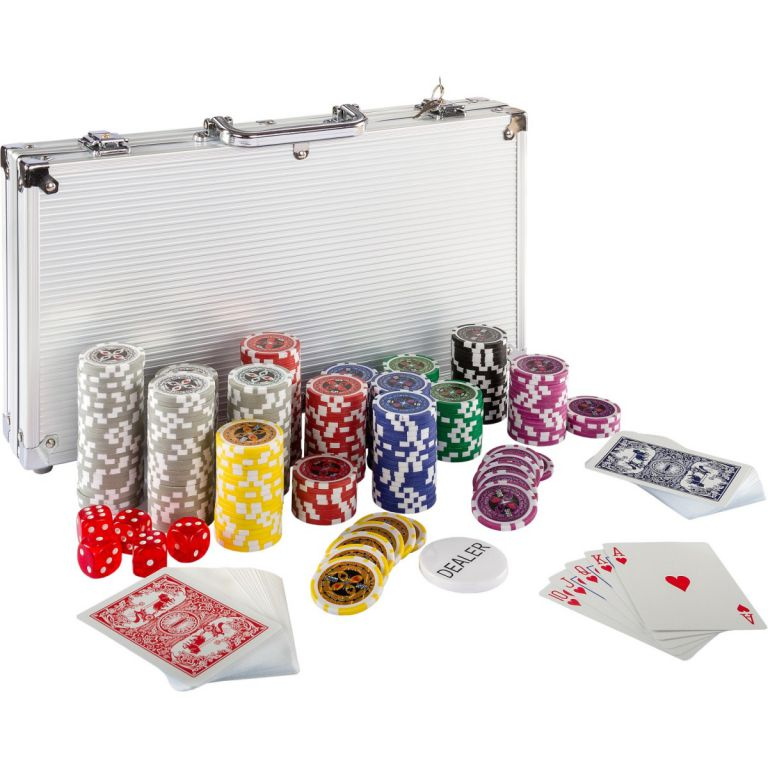 MAX 2642 Poker set 300ks žetonů 1 - 1000 design Ultimate