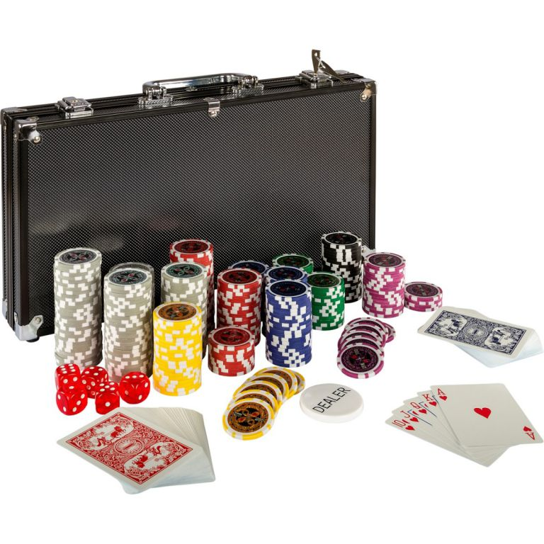 Poker set 300 ks žetonů BLACK EDITION 1 – 1000