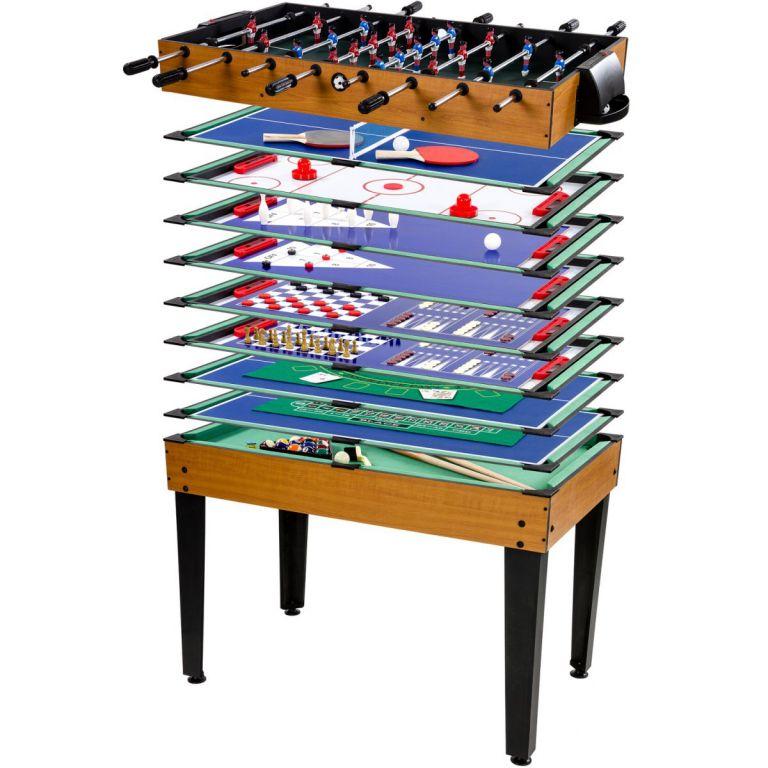Multifunkční herní stůl 15 v 1