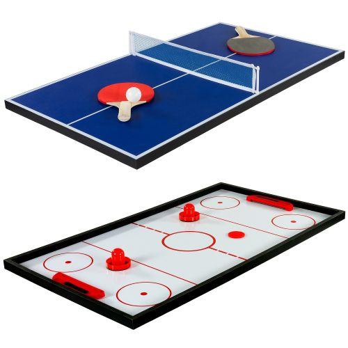 Multifunkční herní stůl 15 v 1 - černý