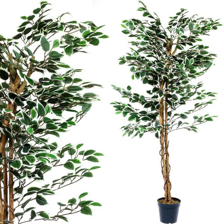 Umělý strom rostlina – fíkus – 160 cm