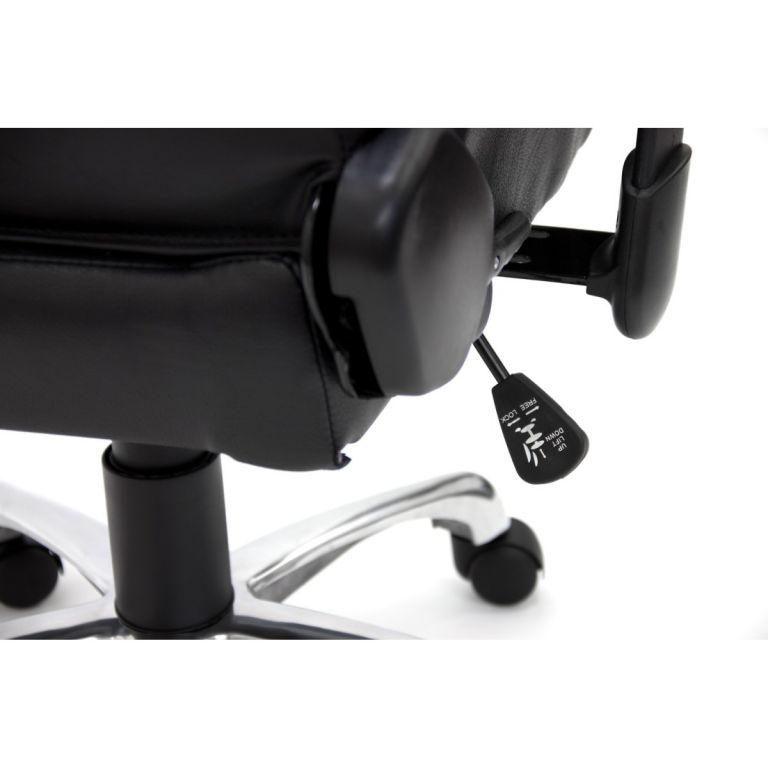 Kancelářská otočná židle RS RACER SEAT, černá