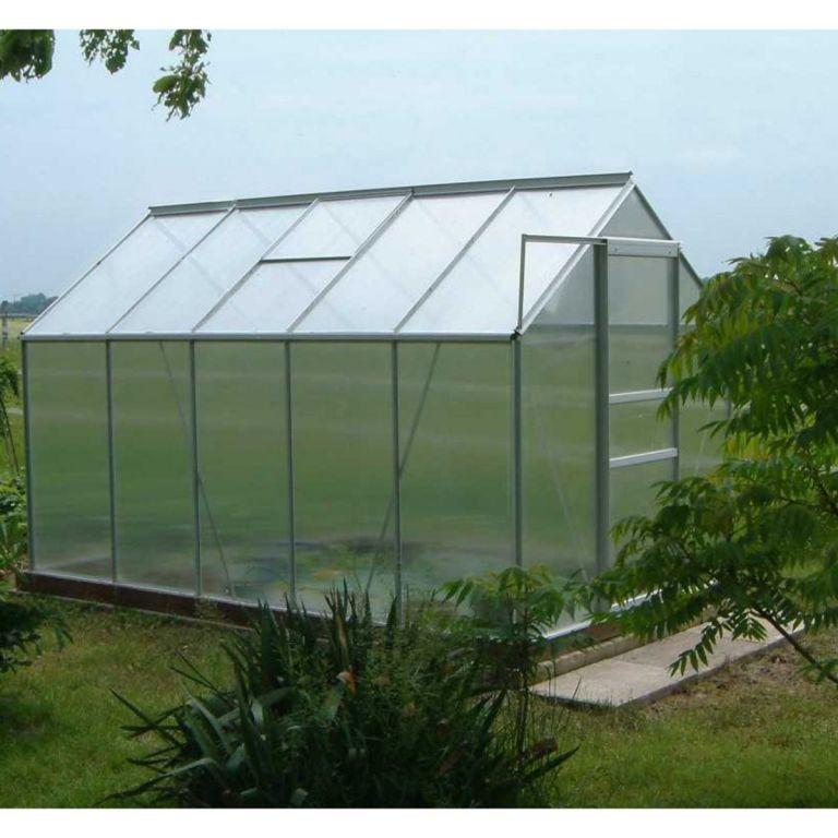 Hliníkový skleník PLANTASIA 190 x 190 x 195 cm 3,6m2
