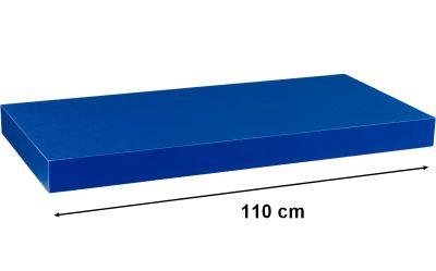STILISTA VOLATO Nástěnná police  - modrá 110 cm