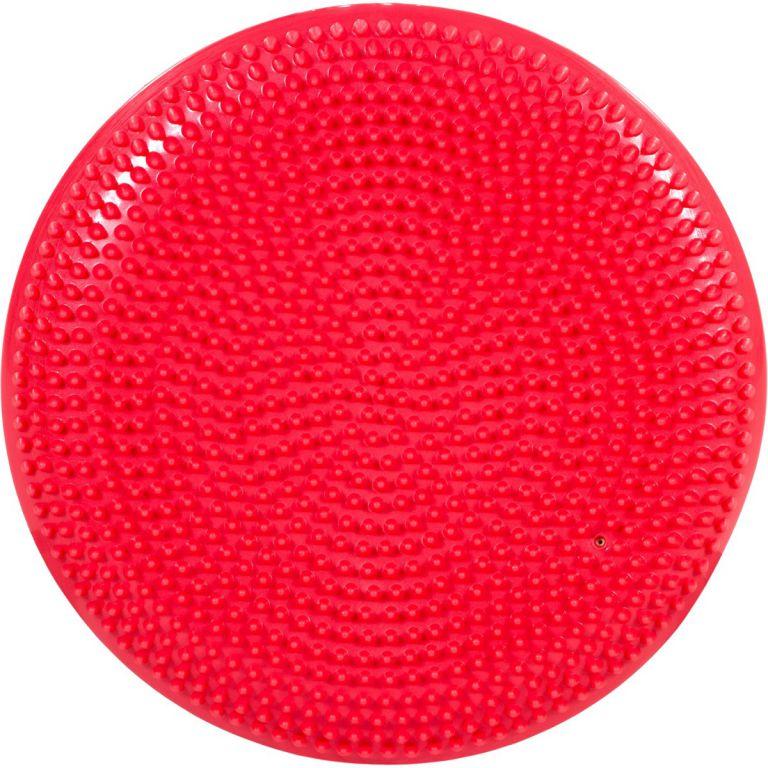 Balanční polštář na sezení MOVIT 33 cm, červený