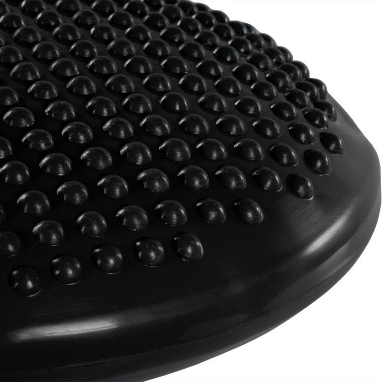 Balanční polštář na sezení MOVIT 37 cm, černý