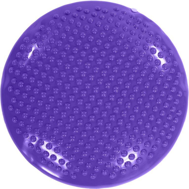 Balanční polštář na sezení MOVIT 37 cm, fialová