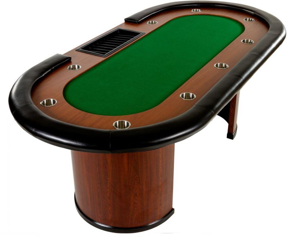 MAX 32443 XXL pokerový stůl Royal Flush, 213 x 106 x 75cm, zelená