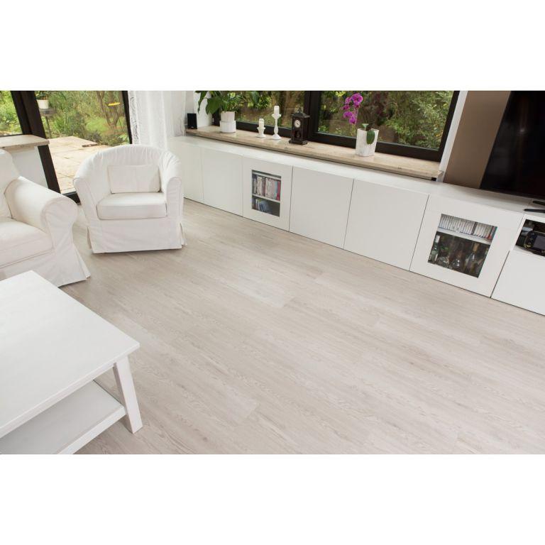 Vinylová podlaha STILISTA 5,07 m2 - bílé dřevo