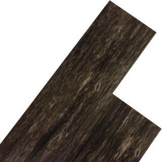 STILISTA Vinylová podlaha 5,07 m2 - rustikální tmavý dub