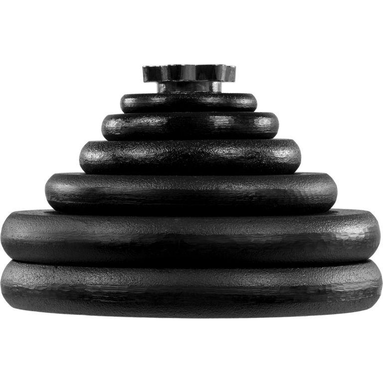 Obouruční činkový set MOVIT 66,5 kg – činka + závaží