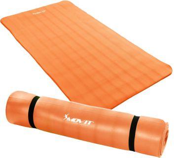 MOVIT Podložka na jógu 190 x 100 x 1,5 cm oranžová