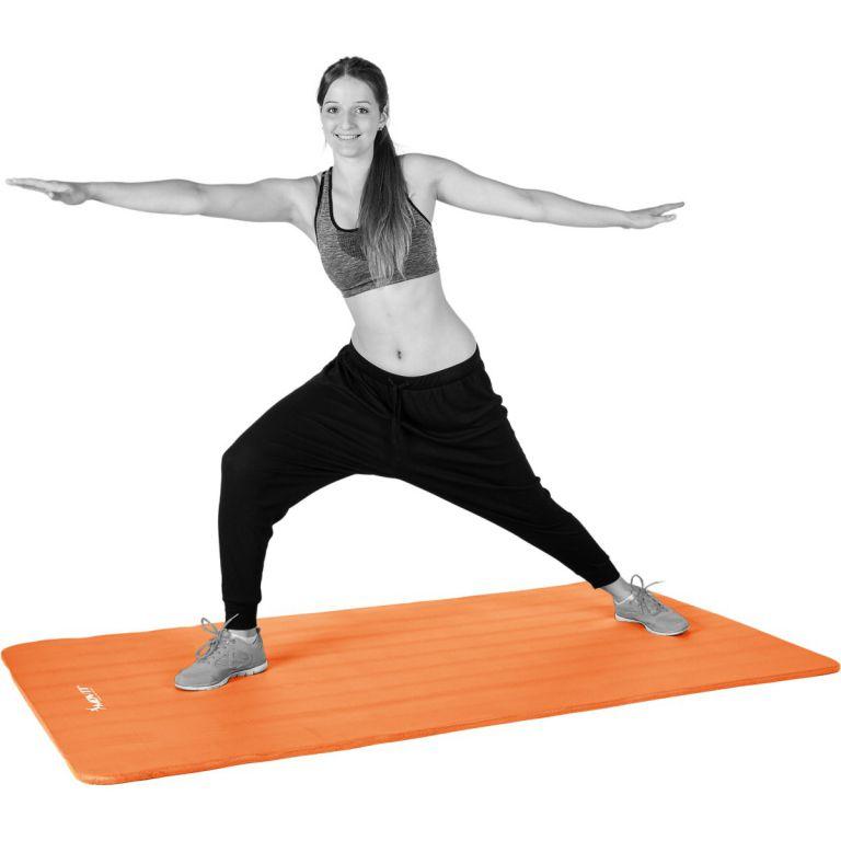 Gymnastická podložka MOVIT 190 x 60 x 1,5 cm oranžová