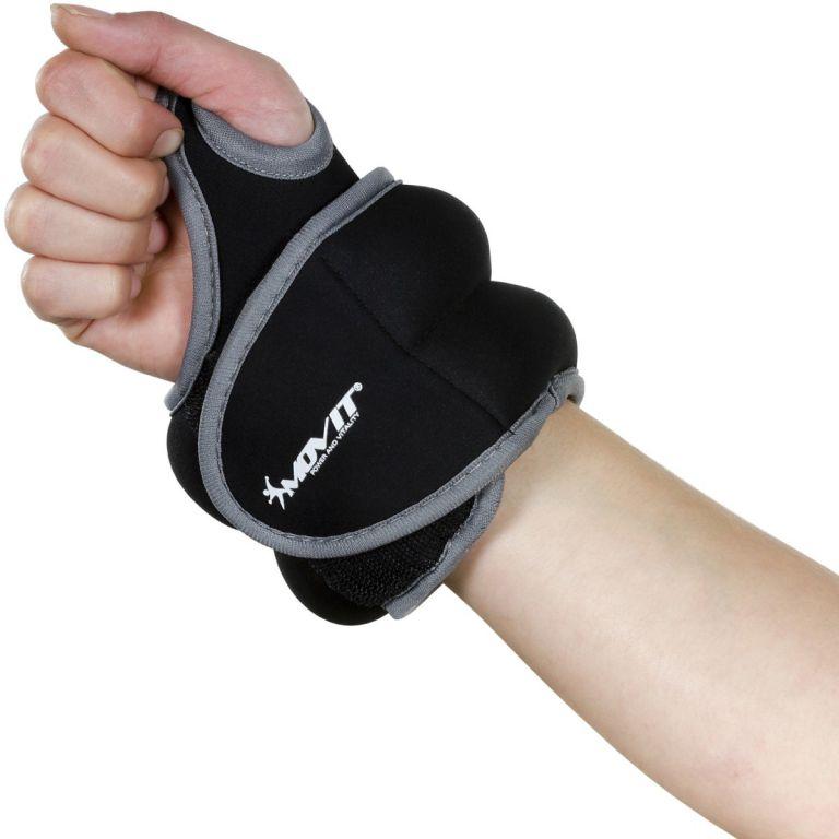 Oem Movit neoprenová kondiční zátěž 1,5 kg, černá