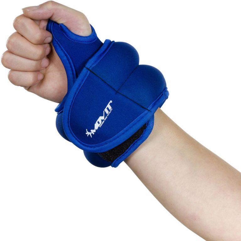 MOVIT neoprenová kondiční zátěž 0,5 kg, modrá