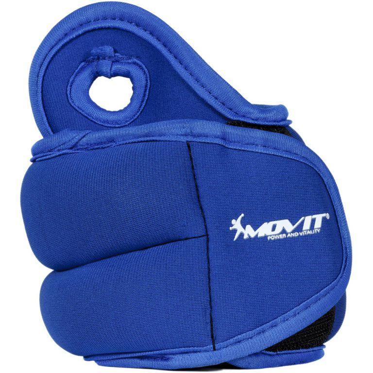 MOVIT neoprenová kondiční zátěž 1,0 kg, modrá