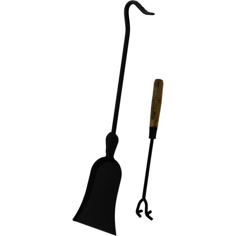 TERA Venkovní zahradní krb litina 120 cm - černý