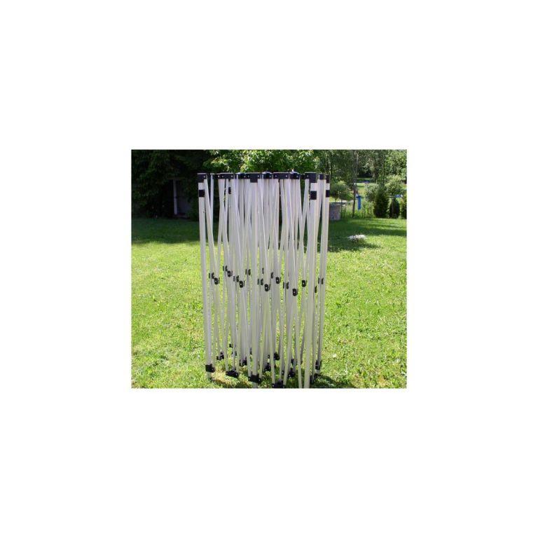 Zahradní párty stan nůžkový 3 x 6 m STILISTA černý