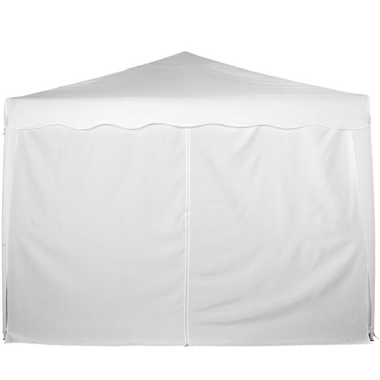 Náhradní boční stěna ke stanu se zipem - bílá