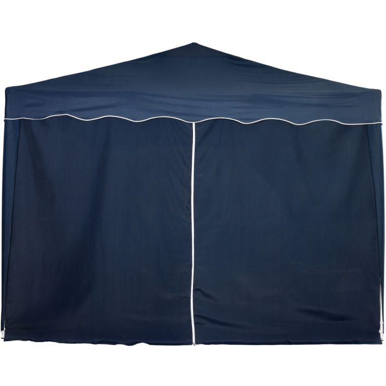 Náhradní boční stěna ke stanu se zipem - modrá