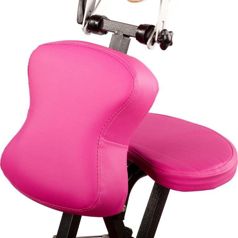 Masážní židle Movit skládací růžová 8,5 kg