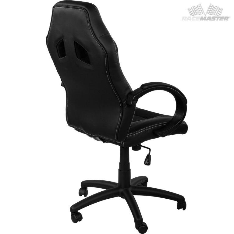 Kancelářská židle GS Tripes Series - černá vínová